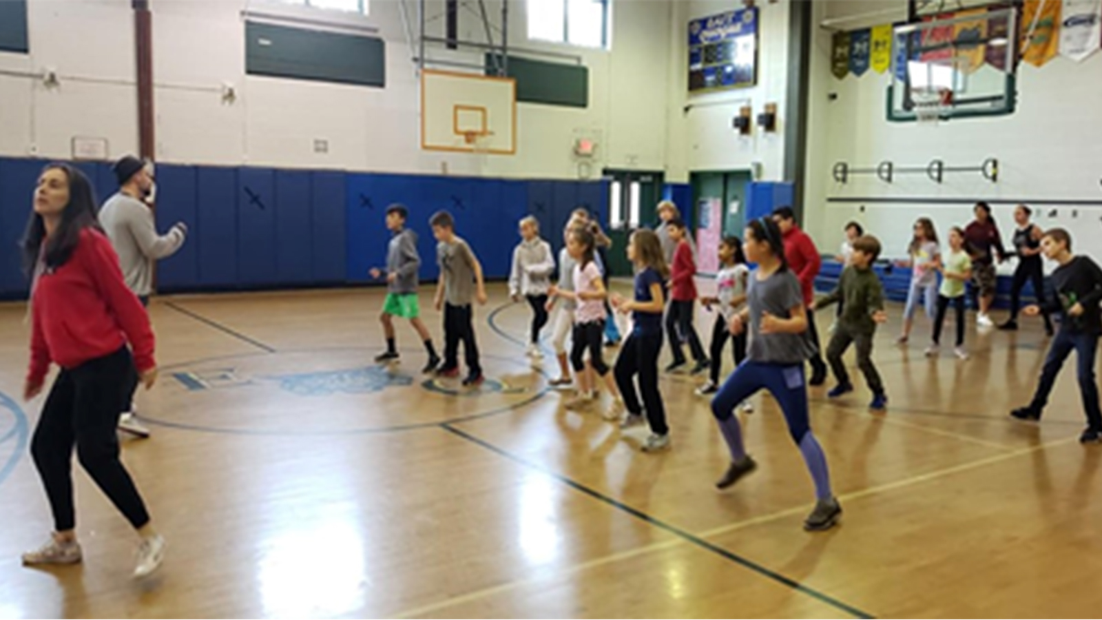 Students Start the Day With Dance photo