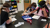 Sixth-Grade Students Explore Chemical Reactions photo
