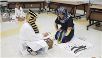 Sixth-Graders Study Egyptian Culture photo