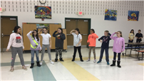 Drama Club Preps for Musical Performance photo