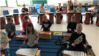 Students Explore Rhythm and Sound photo