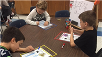 Third-Grade Students Work to Master Multiplication photo
