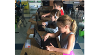 Students Utilize Classroom Technology photo