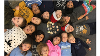 Second-Graders Choose Happiness photo