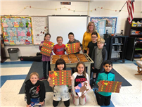 Fourth-Graders Give Back for Thanksgiving photo 2